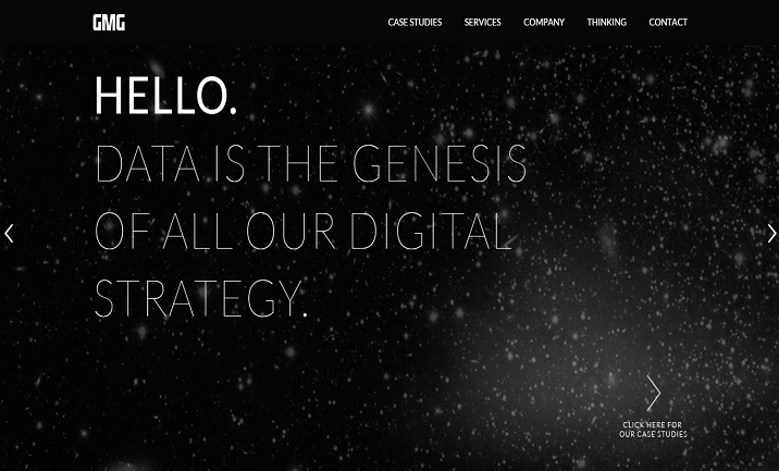 GMG Digital website