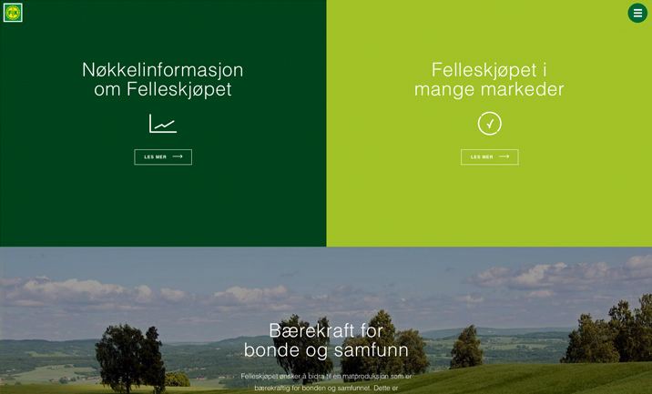 Felleskjøpet Annual Report screenshot 2