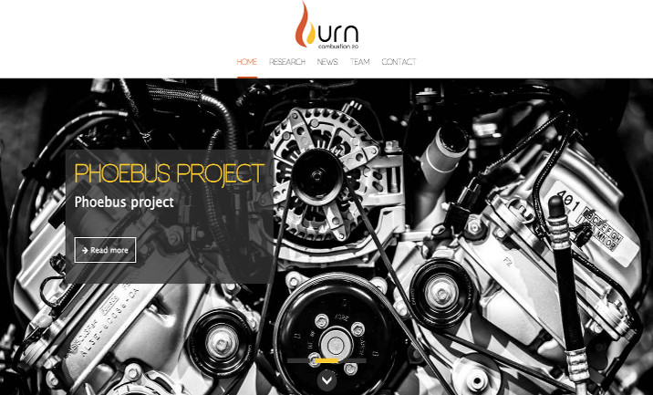 Burn Research website