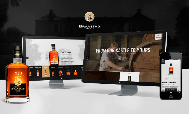 Braastad Cognac website