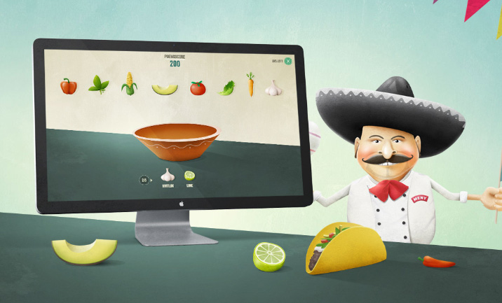 Taco Game website