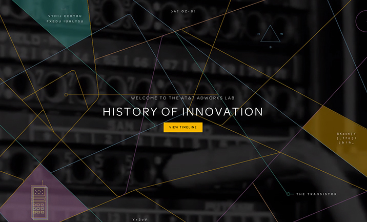 AT&T Labs History of Innovation website
