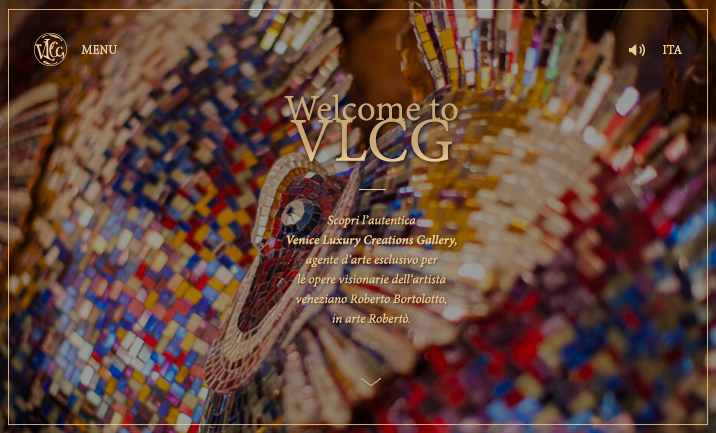 Venice Luxury Creations Gallery website