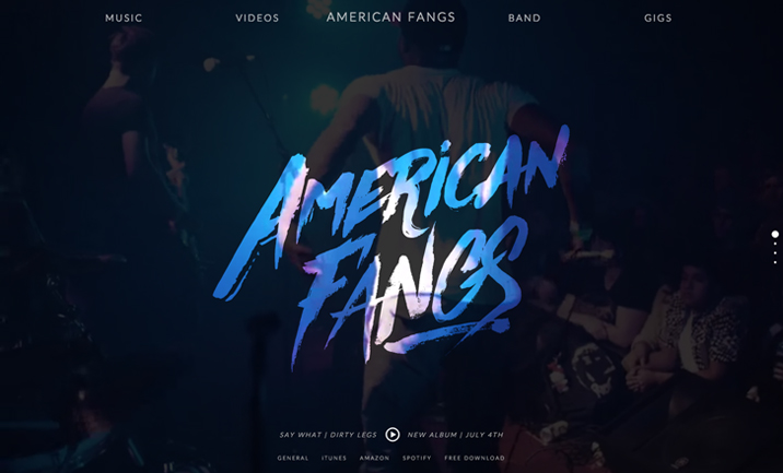American Fangs website