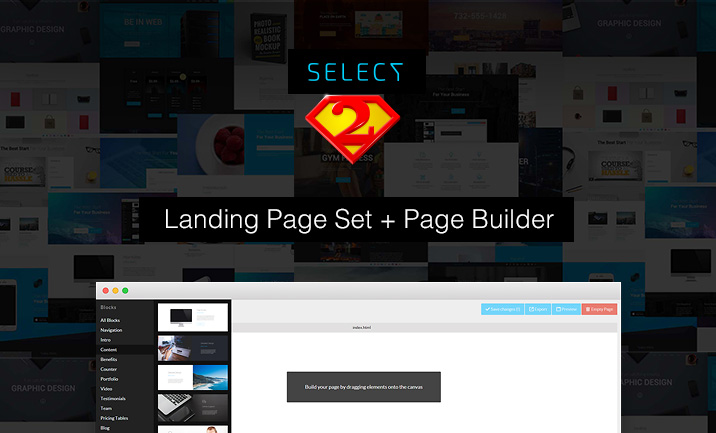 Select - Landing Page Builder