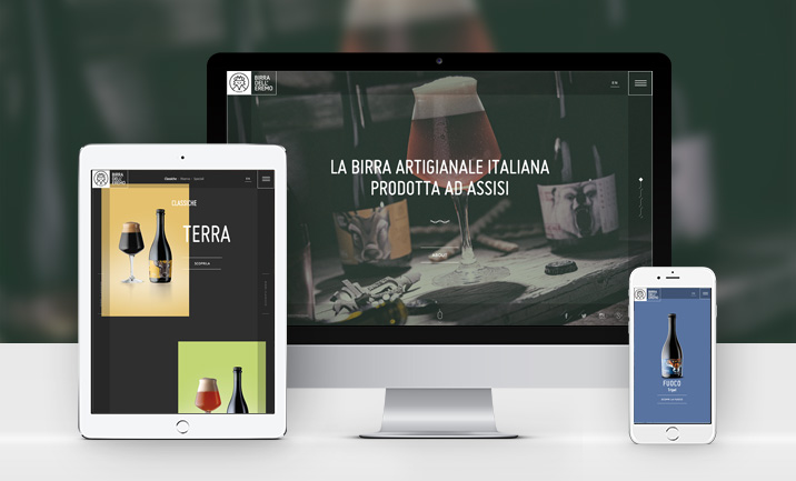 Birra dell'Eremo website