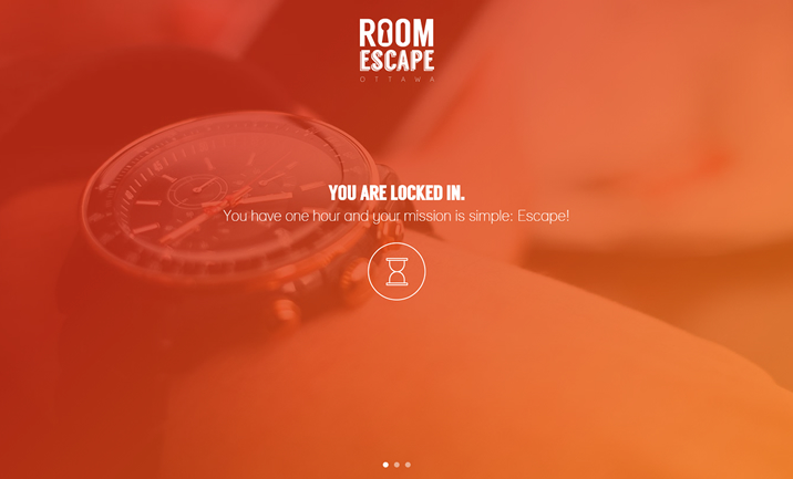 Room Escape Ottawa website