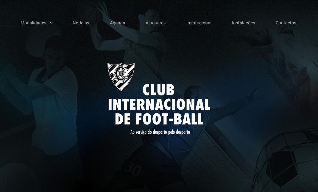 Club Internacional de Foot-Ball designed by Euro M 6368ccf1fec1f