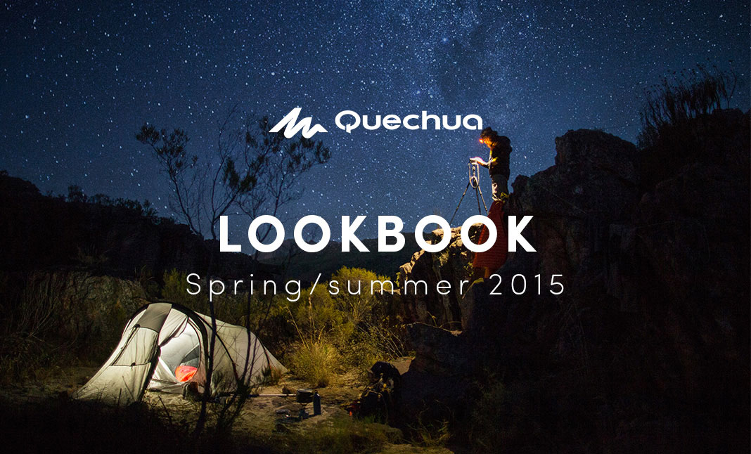 Quechua Lookbook S/S 2015 website