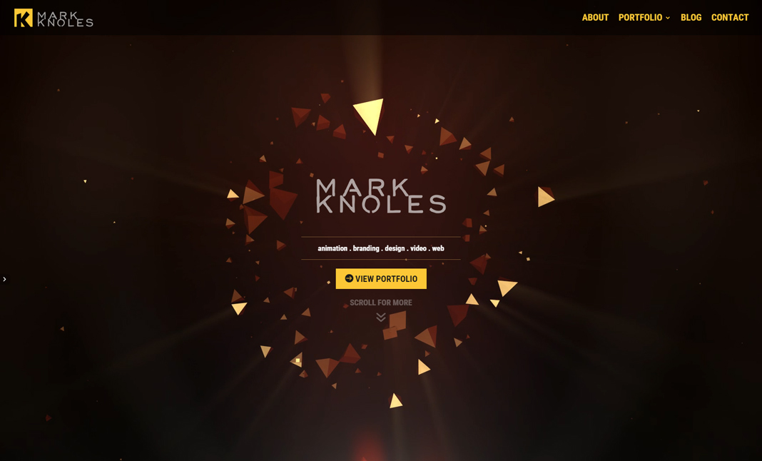 Knoles Creative website