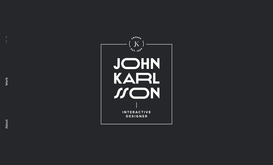 John Karlsson ~ Portfolio website