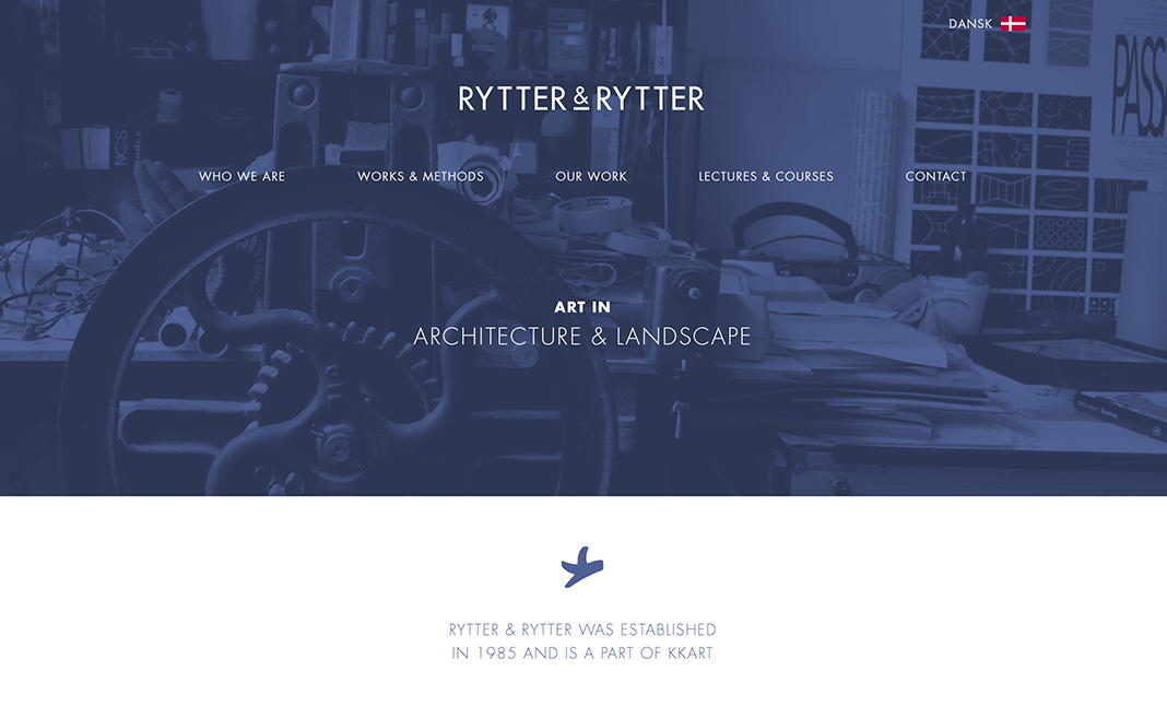Rytter & Rytter website