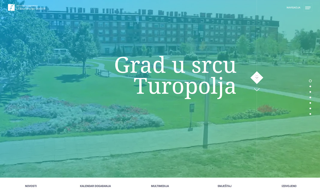 Tourist Board of Velika Gorica website