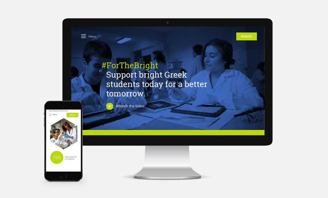#ForTheBright website