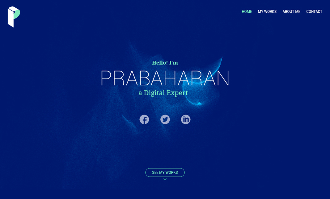 Prabaharan CS Portfolio website