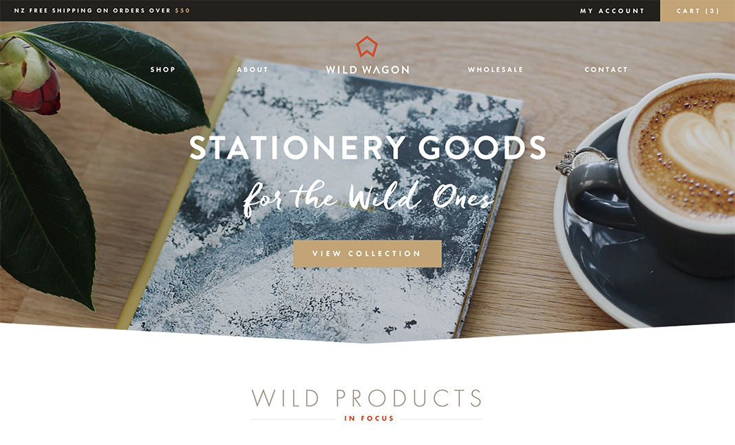Wild Wagon Co website
