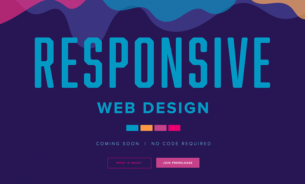 Adobe Muse | Responsive website