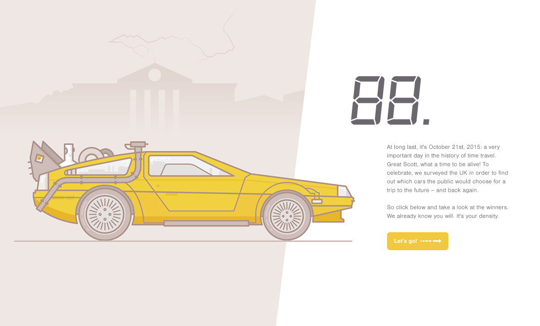88 Miles Per Hour website