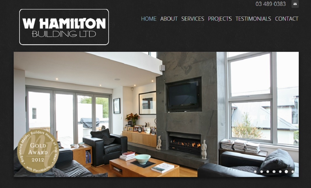 W Hamilton Building Ltd website