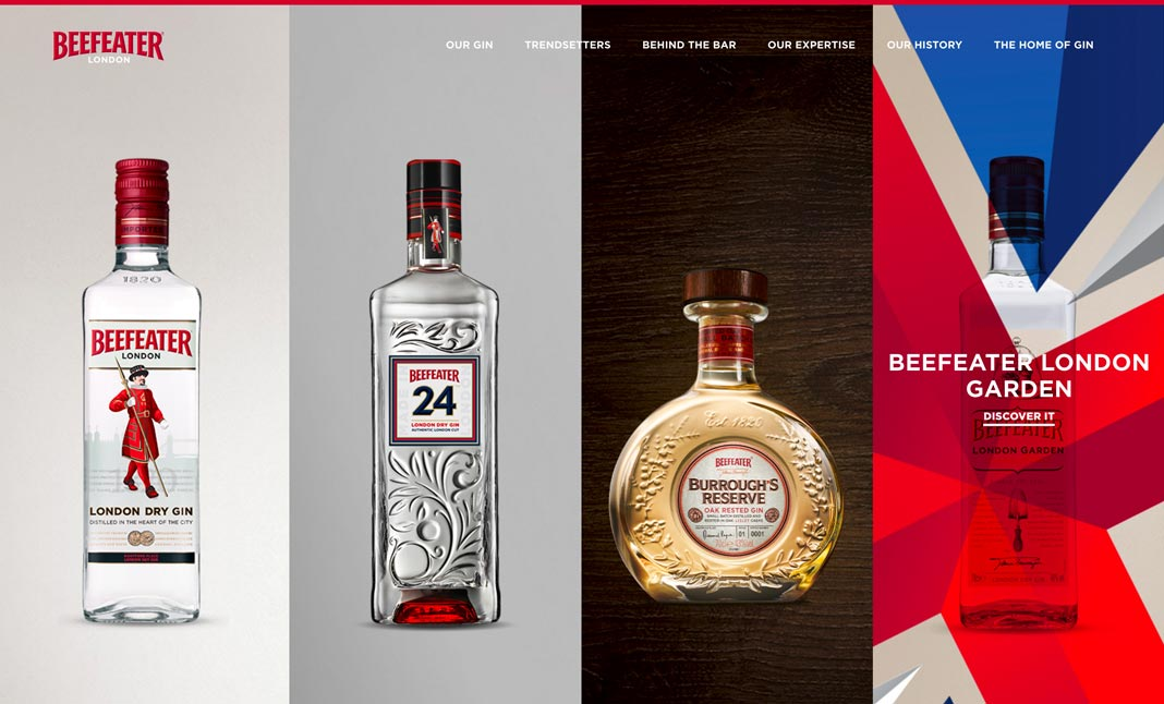 Beefeater Gin screenshot 2
