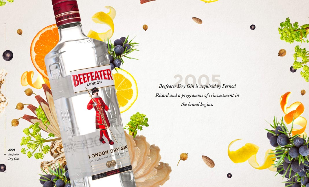 Beefeater Gin screenshot 3