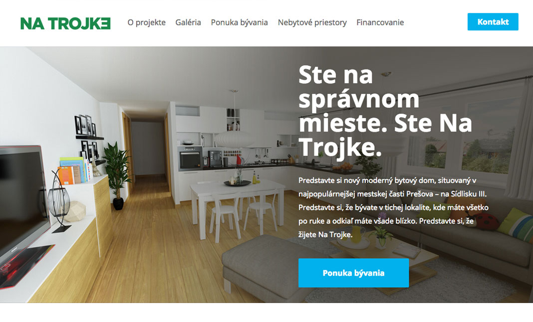 Na Trojke website