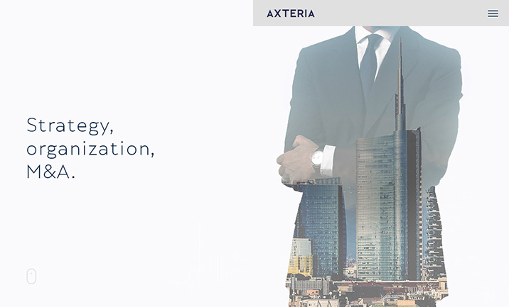 Axteria Strategy Consultants website