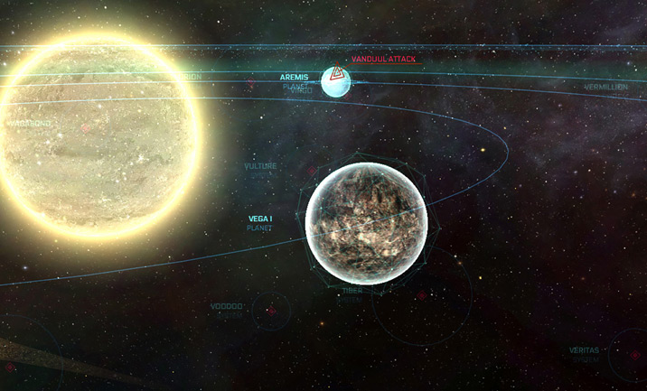 The Ark: Star Citizen Starmap website