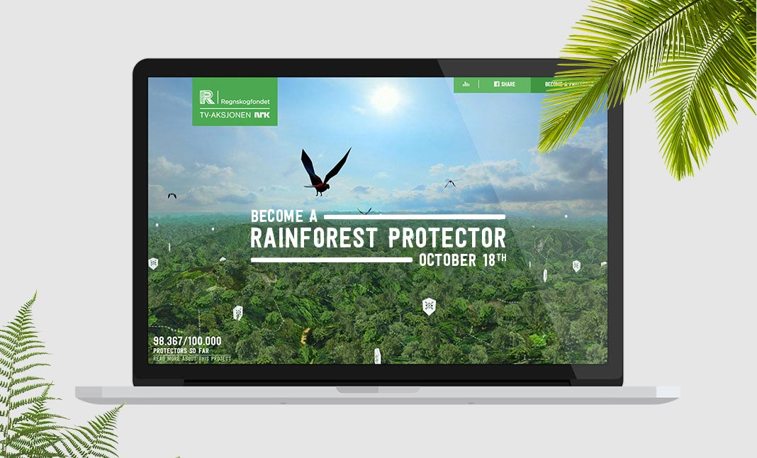 Save The Rainforest Website ...