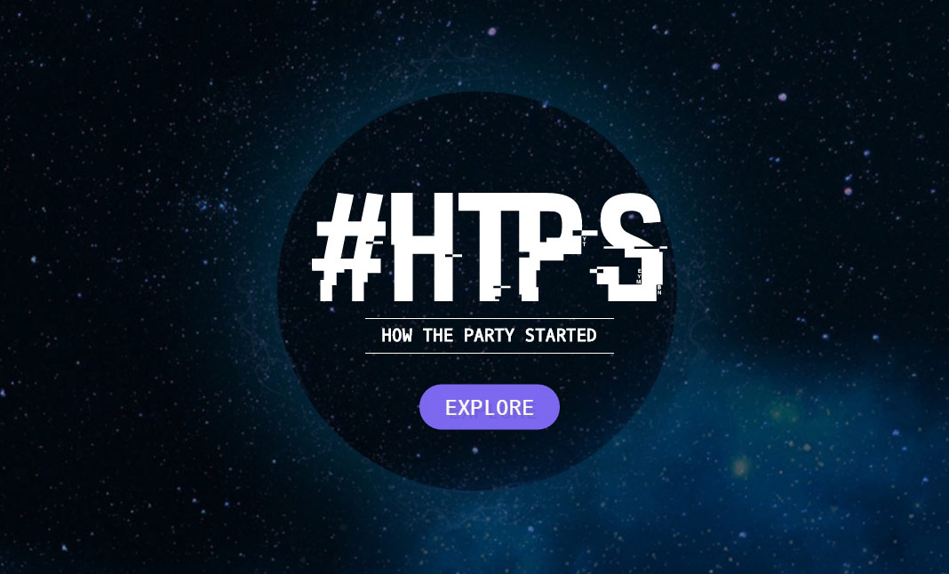 How The Party Started website