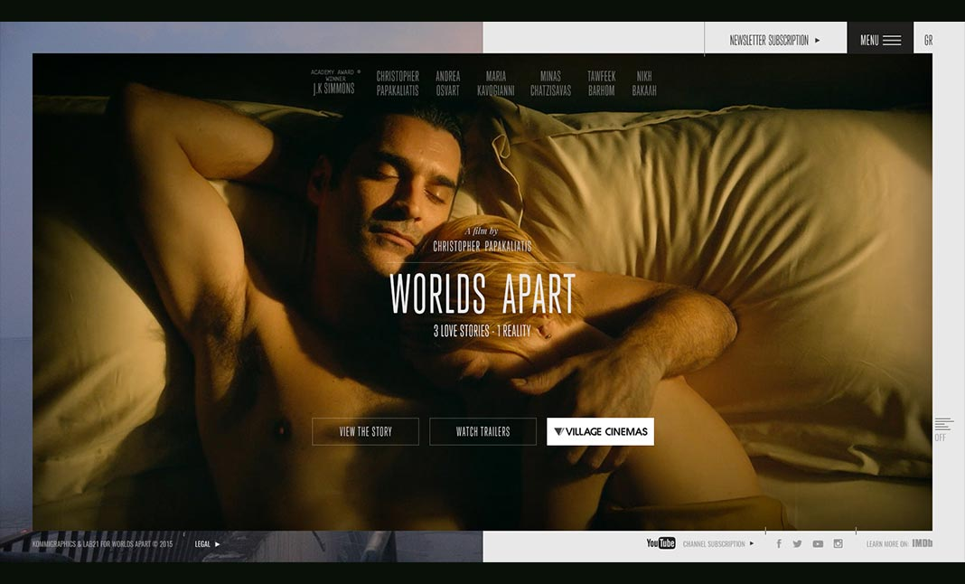 Worlds Apart Film website