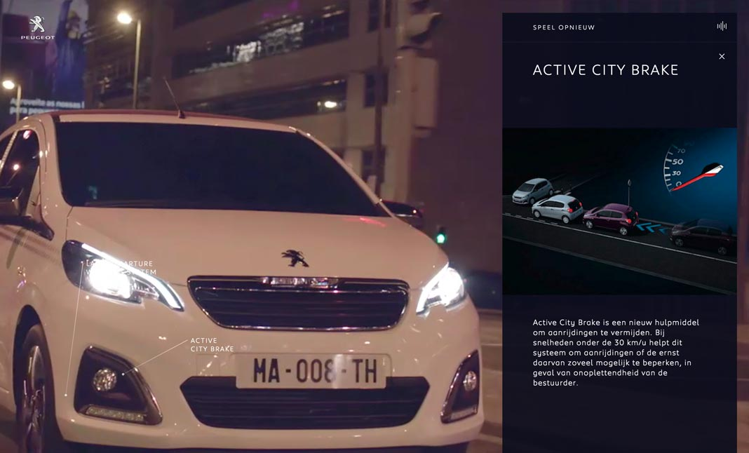 Peugeot - Follow your Intuition  screenshot 2