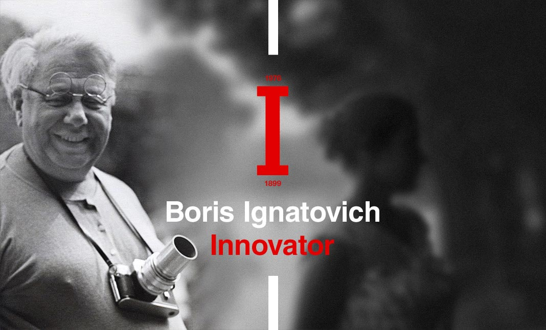 Innovator. Boris Ignatovich website