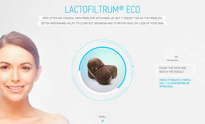 Lactofiltrum website