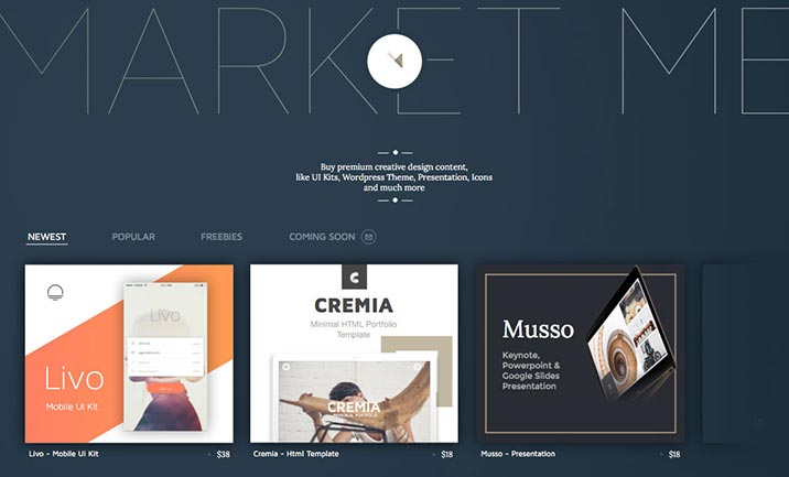 Market Me website