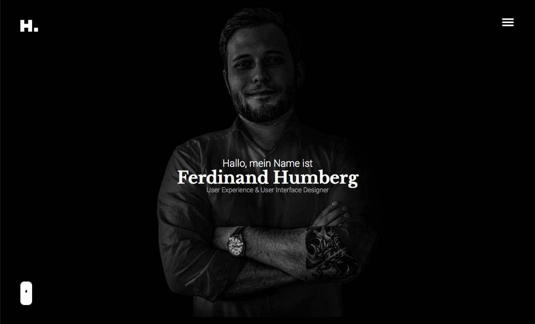 Ferdinand Humberg website