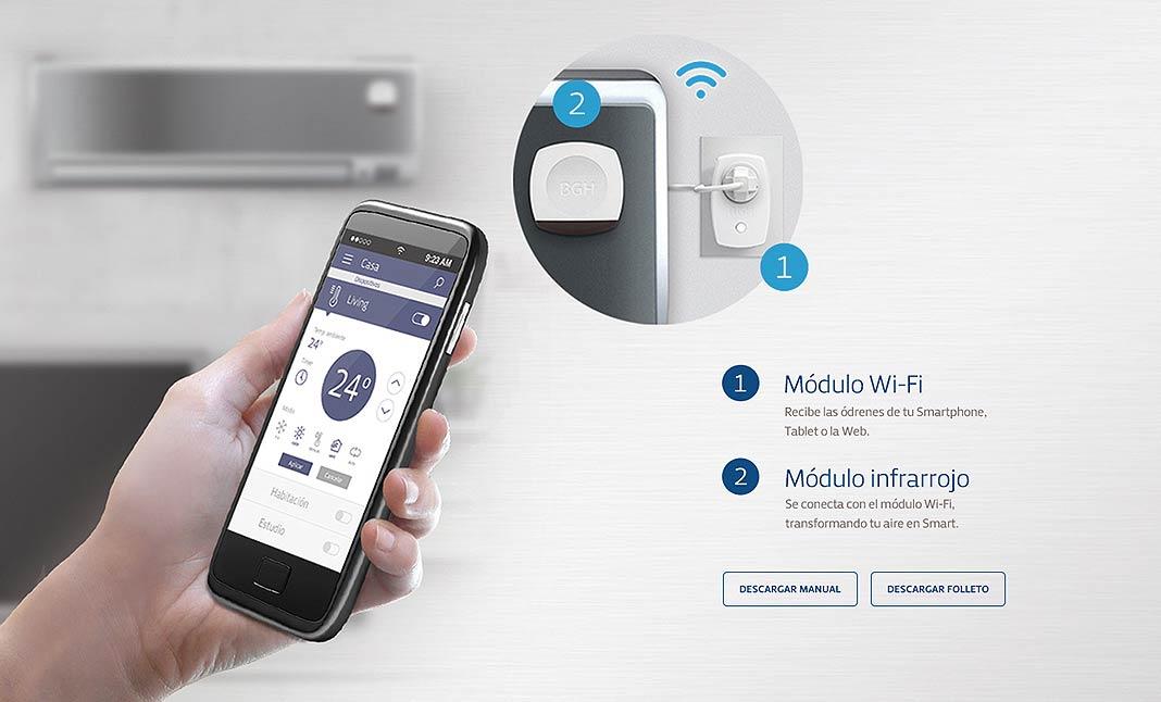 ab8be621e30 BGH Smart Control designed by Agencia Ego