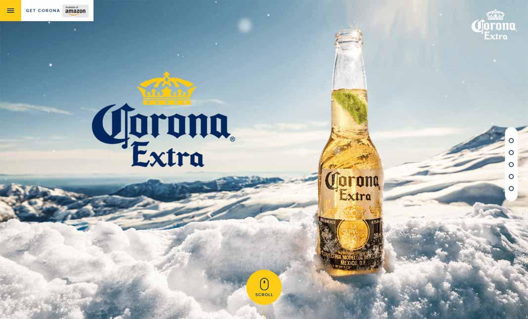 Corona Extra Designed By Shiftbrain Inc