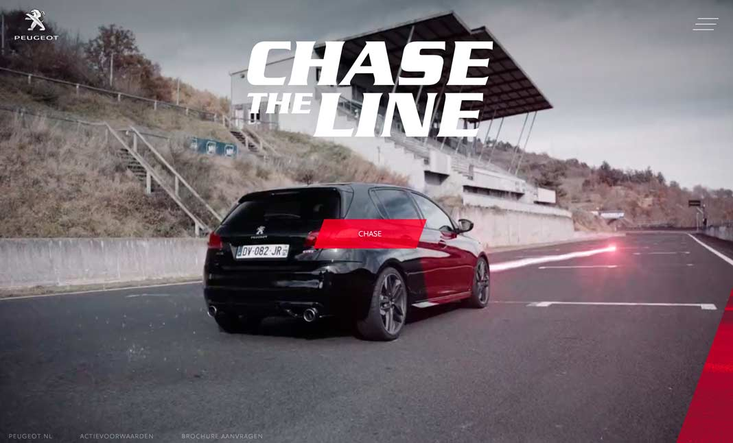 Peugeot GTi - Chase the Line screenshot 3