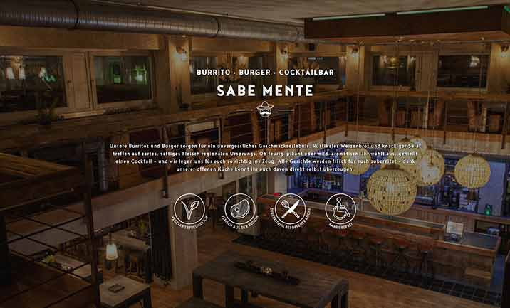 SABEMENTE - Restaurant & Bar website