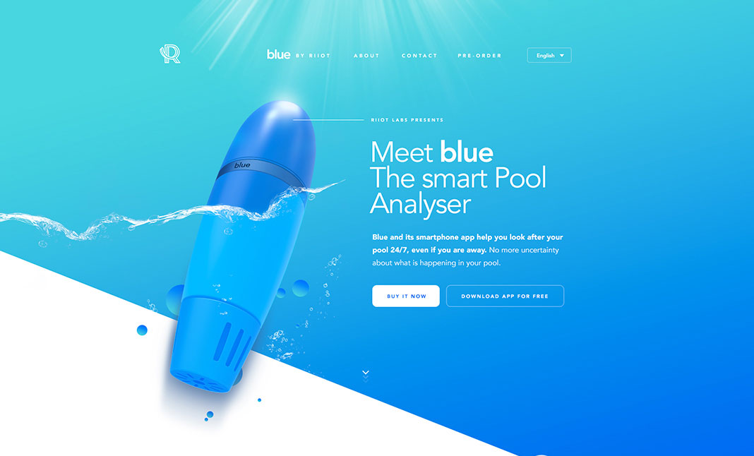 Riiot Labs website