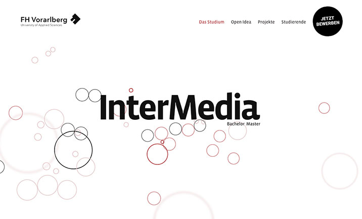 InterMedia Design University website
