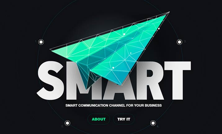 SmartSMS website