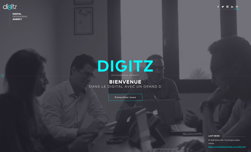 Digitz website