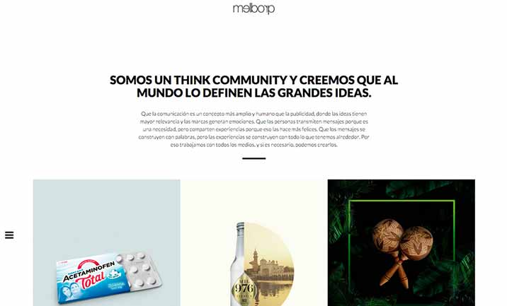 Melborp - Think Community website