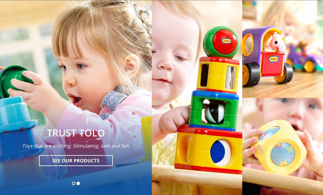Tolo Toys website
