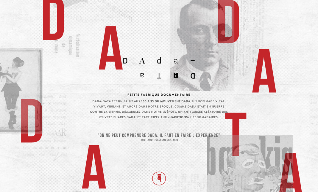 DADA-DATA website