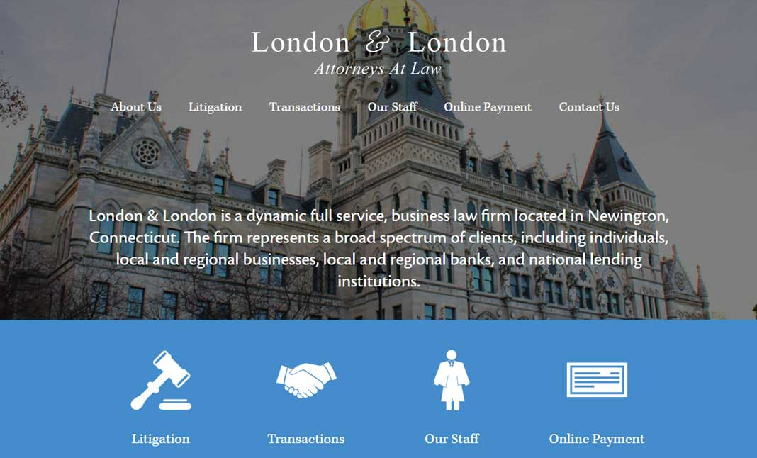 London & London website