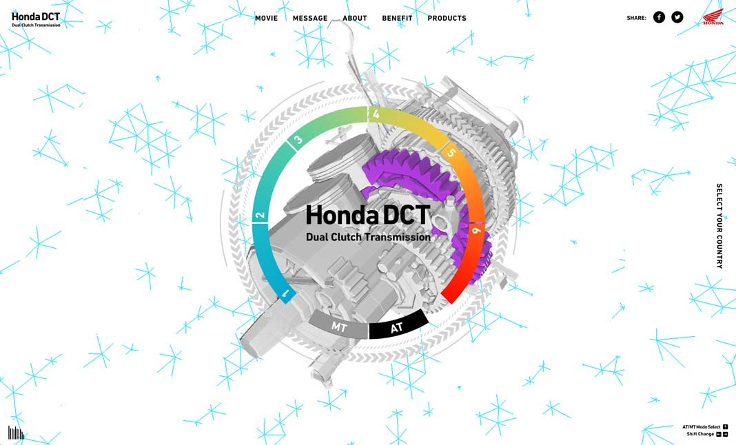 Honda DCT website