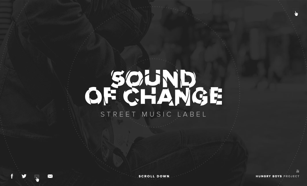 Sound of Change  website